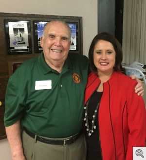 Program Director Buddy Dixon and POA CEO Leslie Nalley