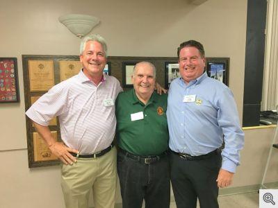 Matt Lewarn (POA), Buddy Dixon, Tom Heffer(POA)